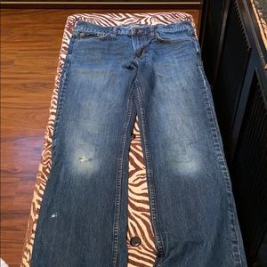 Old Navy Boot-Cut Distressed Men's Jeans